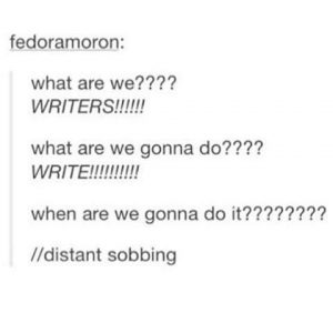 Writing Struggles